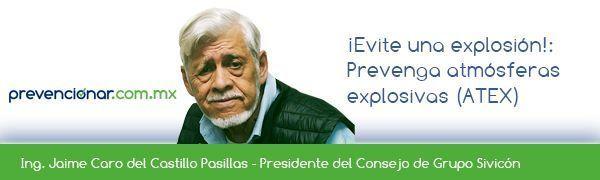 ¡Evite una Explosión!:  Prevenga atmósferas explosivas (ATEX)