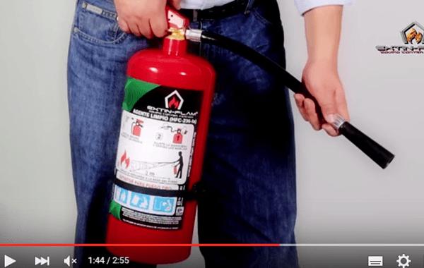 Video: Conoce los extintores Hfc-236 y cómo actúa este agente extinguidor