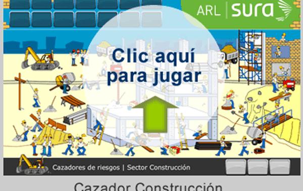 Juego Interactivo: Cazadores Virtuales de Riesgo en la construcción