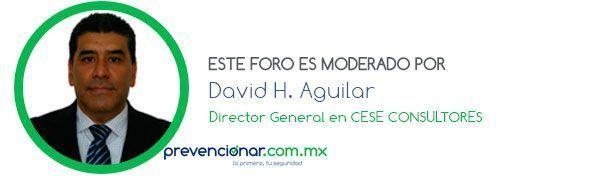 Banner Foro David Aguilar CESE CONSULTORES Legislación seguridad y salud en el trabajo