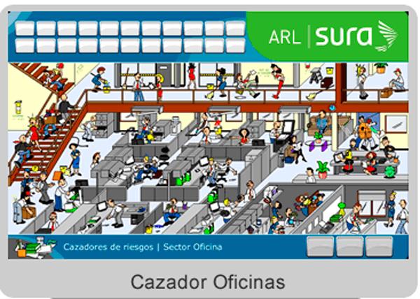 Juego interactivo cazadores virtuales de riesgo en for Juego de golf para oficina