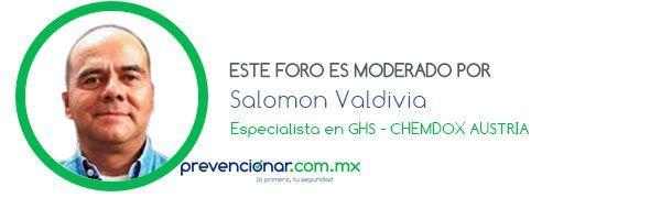 Foro Banner Salomon Valdivia, Sistema Globalmente Armonizado de clasificación y etiquetado de productos químicos (SGA)