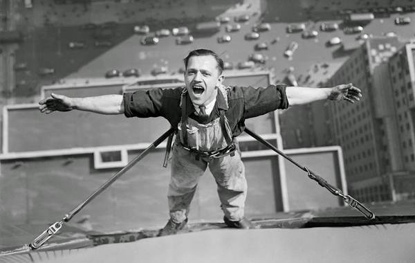 Impresionantes fotografías vintage que muestra los peligros de la construcción