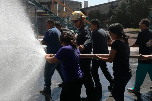 Prevencionar México y el IPN: Prácticas contra incendios, la mejor forma de prepararte para emergencias