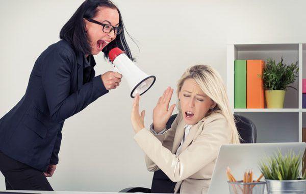 ▼ Acabar con la violencia y el acoso en el trabajo