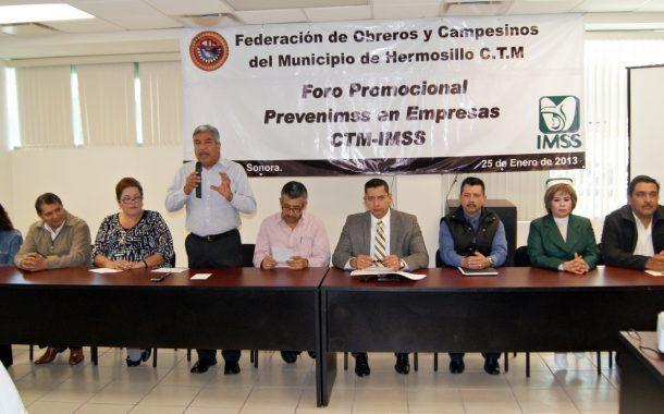 Sonora Implementa acciones para prevención de riesgos laborales