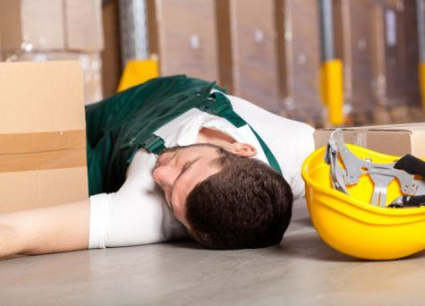 Vídeos sobre accidentes de trabajo mortales.