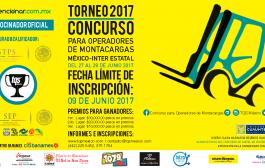 Inscribete ahora al Torneo 2017 Concurso Inter Estatal para operadores de montacargas