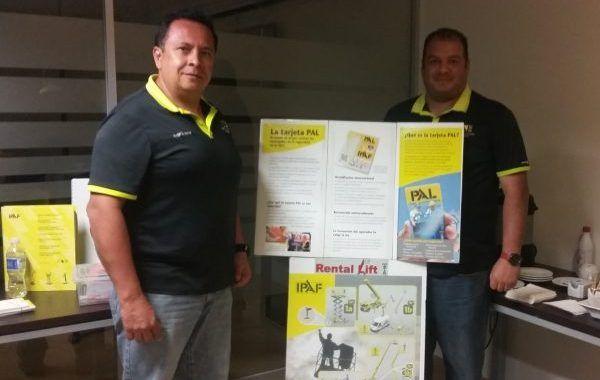 Rental Lift imparte exitoso curso de plataformas elevadoras con certificación de la IPAF