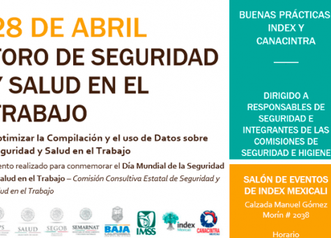 28 de Abril-Foro de Seguridad y Salud en el Trabajo Mexicali