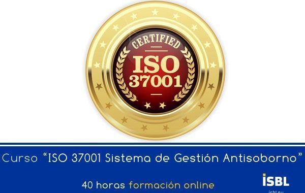 Curso En Linea: ISO 37001 Sistemas de Gestión Antisoborno
