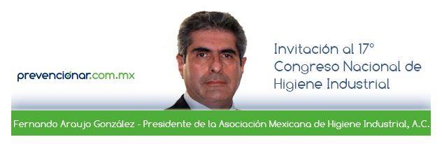 Invitación al 17° Congreso Nacional de Higiene Industrial