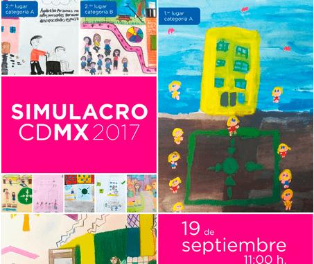 Registrate y participa en el Simulacro CDMX 2017