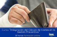 Curso En Linea: Integración del Cálculo de Costes en la Gestión Preventiva