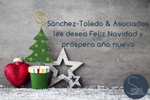 Sánchez-Toledo & Asociados les desea Feliz Navidad y próspero año nuevo