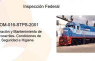 ¿Conoces el material de la STPS para orientar las inspecciones al sector ferroviario?