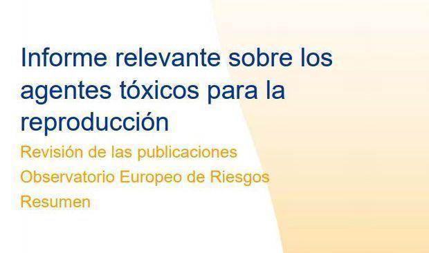 ¡Descarga!: Informe sobre agentes tóxicos para la reproducción