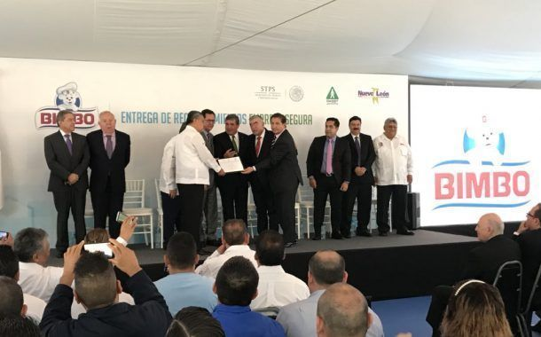 "STPS otorga a Bimbo el distintivo "" Empresa Segura """
