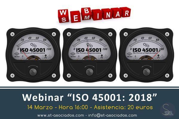 Webinar: ISO 45001: 2018