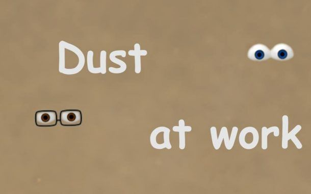 ¡Próximo estreno! Napo en Dust at Work