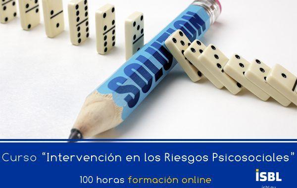 Curso OnLine: Intervención en los Riesgos Psicosociales