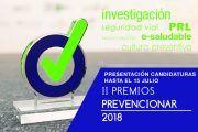II Edición Premios Prevencionar ¿a qué esperas para presentar tu candidatura?