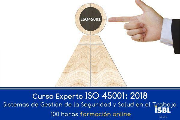 Curso OnLine - Experto ISO 45001: 2018