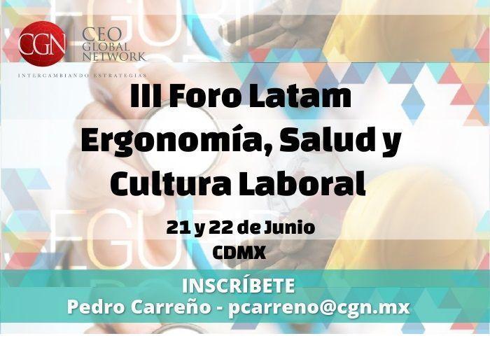 ¡No lo olvides! Este 21 y 22 de junio será el Foro Latam