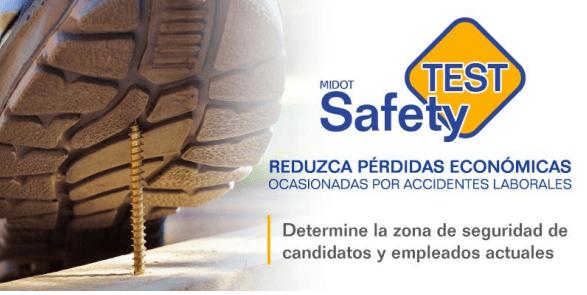 SafetyTEST de MIDOT evalúa el nivel de seguridad de tus empleados y candidatos
