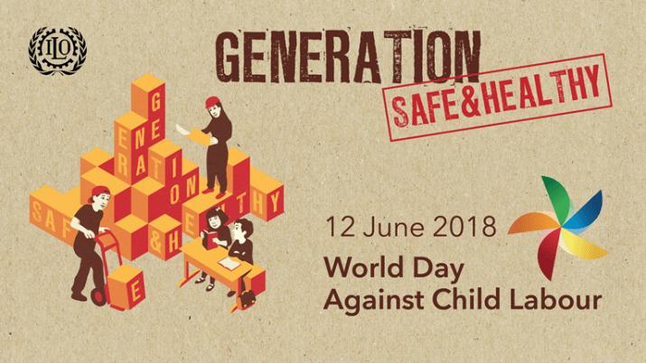 Día mundial contra el trabajo infantil: ¡generaciones más seguras y saludables!