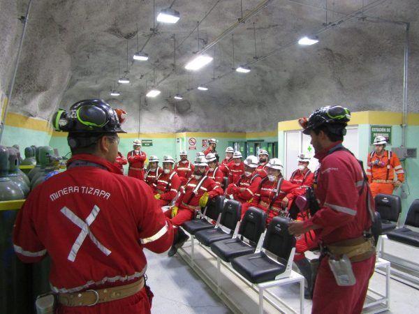 Certifica STPS a inspectores federales del trabajo en materia de minería