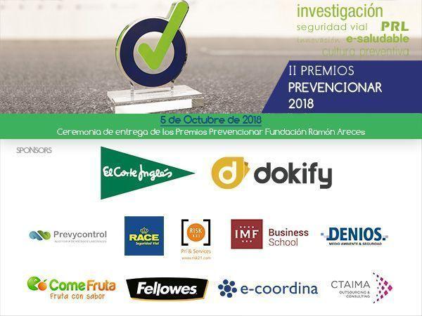 215 candidaturas recibidas a 7 días para el cierre de presentación de candidaturas a los II Premios Prevencionar