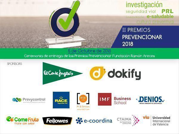 Finalistas II Edición Premios Prevencionar 2018