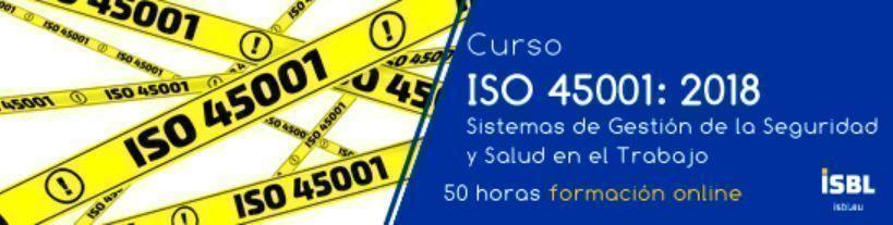 Curso en Línea: ISO 45001 Sistemas de Gestión de la Seguridad y Salud en el Trabajo
