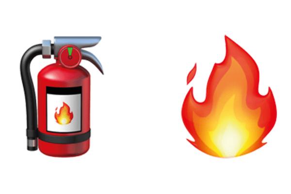 ¡WhatsApp estrena Emoji de extintor!