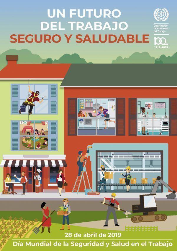 ¡Descarga ya el póster para el día mundial de la seguridad y salud en el trabajo 2019!