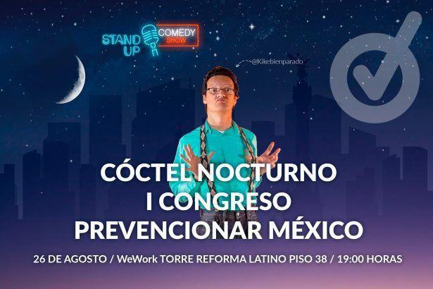 Más sorpresas en el I Congreso Prevencionar México: habrá cóctel nocturno y show