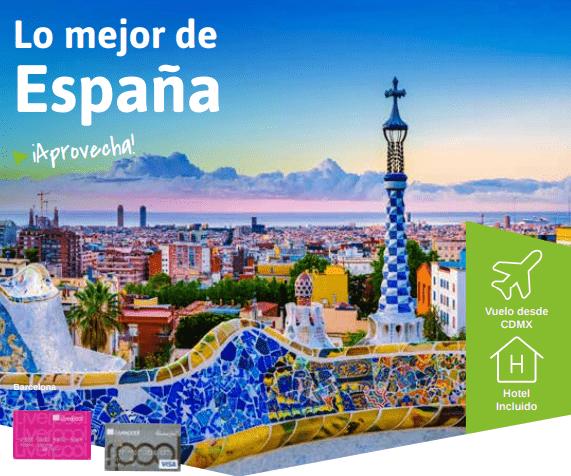 Visita España y asiste al II Congreso Prevencionar sin costo de inscripción con Viajes El Corte Inglés