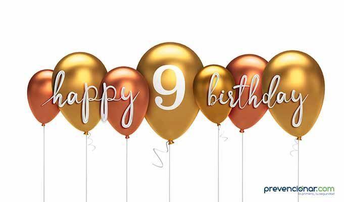 ¡¡¡Prevencionar cumple 9 años!!!!