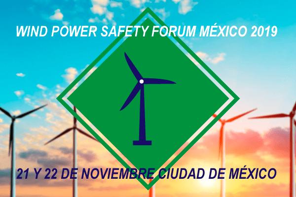 21 y 22 de noviembre: Wind Power Safety Forum México