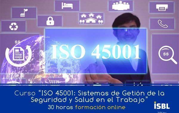 Curso En Linea – ISO 45001: Sistemas de Gestión de la Seguridad y la Salud en el Trabajo