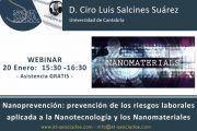 Webinar: prevención de los riesgos laborales aplicada a la Nanotecnología y los Nanomateriales