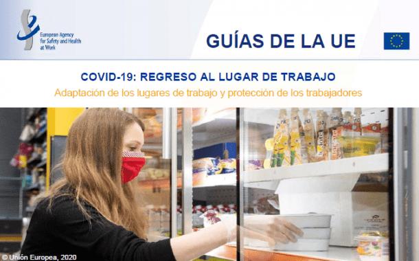 COVID-19: VUELTA AL TRABAJO - Adaptar los lugares de trabajo y proteger a los trabajadores