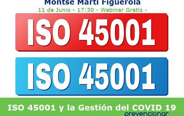 ISO 45001 y gestión del COVID19 #webinar
