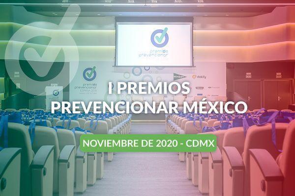 ¿Cuáles son las categorías de la Primera Edición de los Premios Prevencionar México?