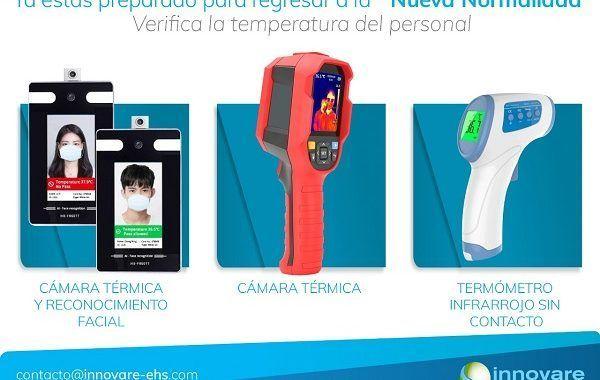 ¡Compra ahora una Cámara térmica y de reconocimiento facial!