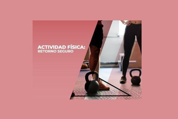 """Lanzan nuevo curso """"Actividad Física: Retorno Seguro"""" en la plataforma CLIMSS"""