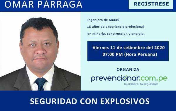 #Webinar: Seguridad con Explosivos