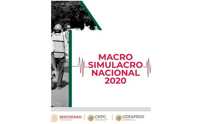 La CNPC Y el Gobierno de la Ciudad de México cancelan Macrosimulacro de Septiembre ante Contingencia Sanitaria