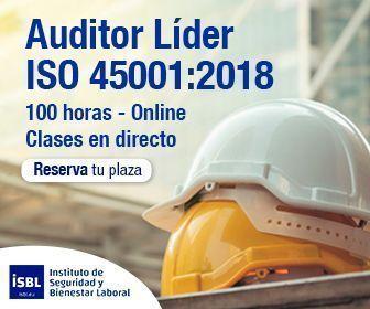 Curso Auditor Líder ISO 45001 - Inicio 1 de Marzo